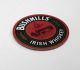Bushmills Irish Whiskey cork backed round drinks coaster  105mm x 105mm (sg)